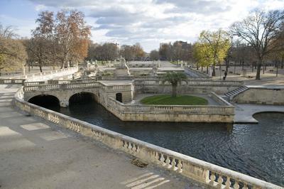 Jardins De La Fontaine à Nimes