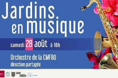 Jardins en musique - Orchestre de la CMF80 à Saint Riquier