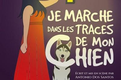 Je Marche Dans Les Traces De Mon Chien à Avignon