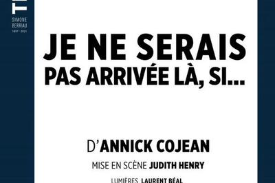 Je Ne Serais Pas Arrivée Là Si à Paris 10ème