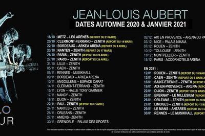Jean-Louis Aubert - Date initialement prévue en mars à Rouen
