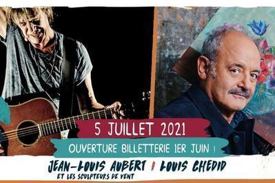 Jean-Louis Aubert / Louis Chedid à Saint Malo du Bois