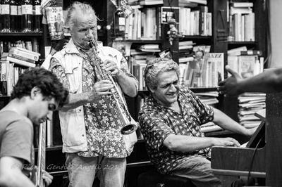 Jef Sicard et Jo Kaiat Concert Jazz à Nice