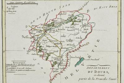Jeu De Cartes Des Archives Du Doubs à Besancon