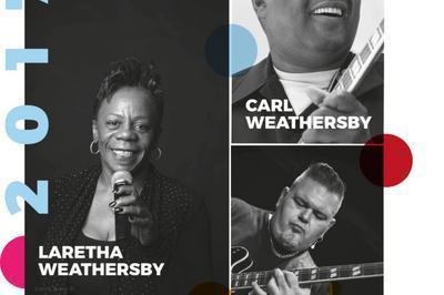 SOBLUES Festival : JJ Jacquet Blues Boom Trio - 48e Chicago Blues Festival on Tour feat. Carl Weathersby, Rico McFarland, Laretha Weathersby à Le Mans