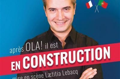 Jose Cruz Dans En Construction à Lille