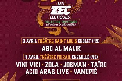 Josman, Vini Vici, Acid Arab. à Chemillé
