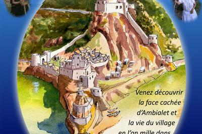 Journée du patrimoine samedi 15 septembre à Ambialet