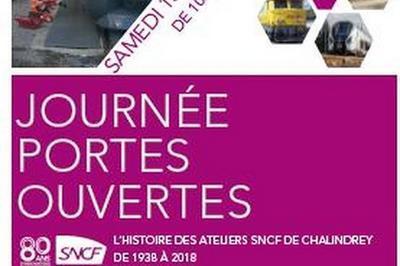 Journée Portes Ouvertes Au Technicentre Champagne-ardenne à Chalindrey