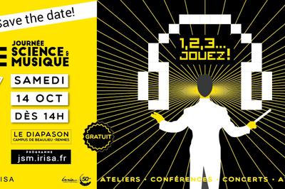 Journée Science et Musique à Rennes