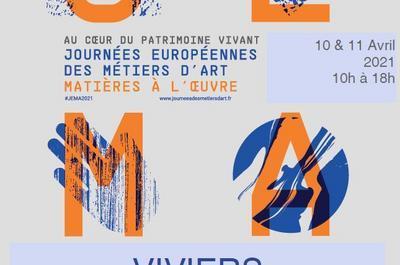 Journées Européennes des Métiers d'Art à Viviers