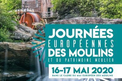 Journées Européennes des Moulins et du Patrimoine Meulier - ANNULE à Saint Pierre sur Erve