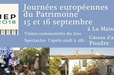 Journées du patrimoine à la Maison Broche à Lusseray
