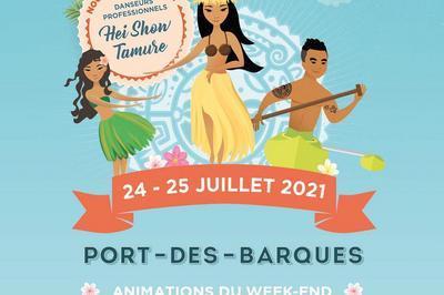 Journées Polynésiennes de Port des Barques 2021