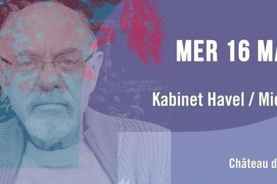Kabinet Havel : Réflexion avec Michel Simonot à La Riche