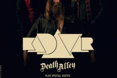 Kadavar et Death Alley à Paris 19ème