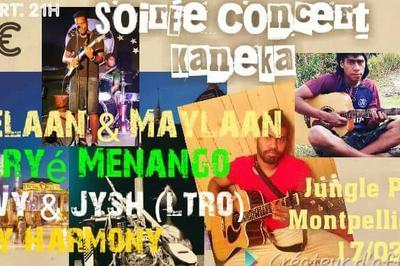 Kaneka En Concert Live & Nombreux Artistes Calédoniens à Montpellier