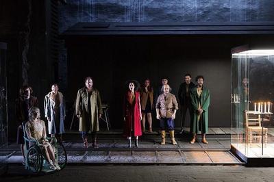 Karamazov mise en scène Jean Bellorini à Massy