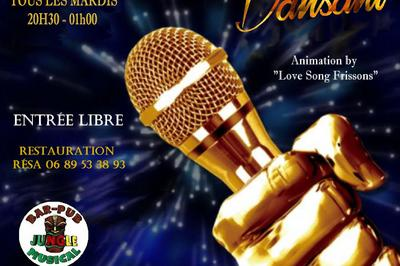 Karaoke Dansant Avec Love Song Frissons à Montpellier