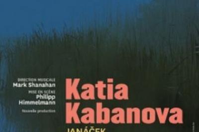Katia Kabanova à Nancy