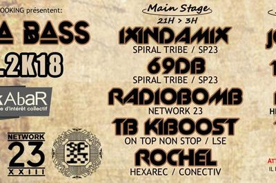 Kazka Bass : 69 Db / Ixindamix / Radiobomb / Tb Kiboost Et Guests à Joyeuse