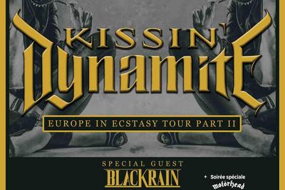 Kissin' Dynamite Et Blackrain à Villeurbanne