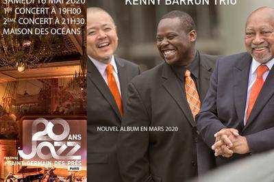 Kenny Barron Trio à Paris 5ème
