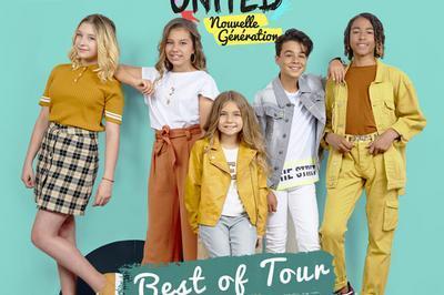 Kids United Nouvelle Generation - report à Boulogne Billancourt