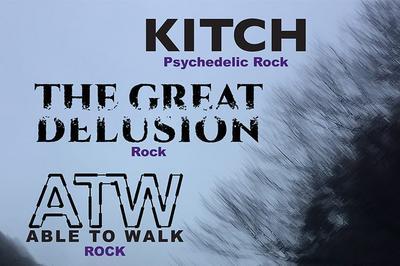 Kitch, Able To Walk et The Great Delusion à Villeurbanne