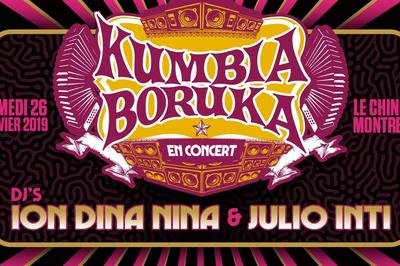 Kumbia Boruka - Djs Ion Dina Nina Et Julio Inti à Montreuil