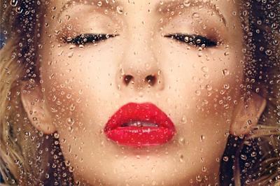 Kylie Minogue à Boulogne Billancourt