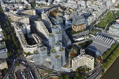 L'architecture Du Trapèze à Boulogne Billancourt