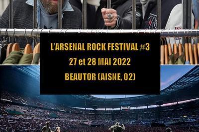 L'arsenal Rock Festival #3 - Pass 1 Jour à Beautor