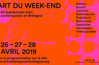 L'Art du week-end, 50 événements d'art contemporain en Bretagne 2019