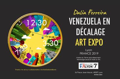 L'artiste vénézuélienne Dalia Ferreira expose à Lyon