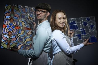 L'atelier Vitrail & Co Vous Ouvre Les Portes De Son Uni-verre... à Orléans