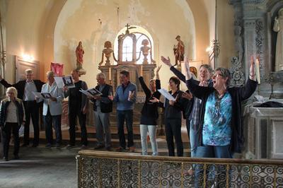 L'église Saint-françois D'assise En Musique à Vendresse