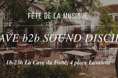 La Cave B2B Sound Disciples à Grenoble