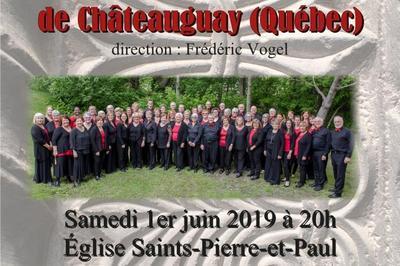 L'Ensemble vocal Allegro de Strasbourg dirigé par Werner Pfaff, accueille Le Choeur en Fugue de Châteauguay (Québec) dirigé par Frédéric Vogel à Rosheim