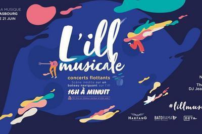 L'ill musicale : concerts flottants pour la fête de la musique à Strasbourg