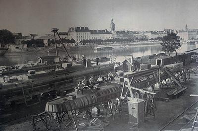 L'Instant patrimoine : Etablissements de MM. Schneider & Cie - James Dredge à Chalon sur Saone
