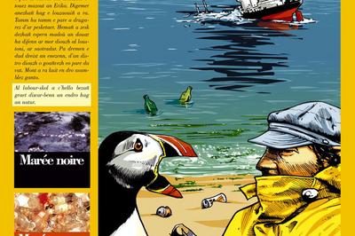 L'oiseau et le pêcheur - Al labous hag ar pesketour à Plouguerneau