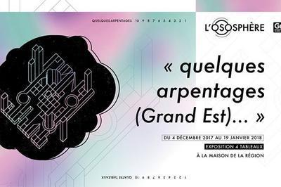 L'Ososphère - « quelques arpentages (Grand Est) » à Strasbourg