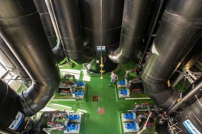 L'usine De Dépollution Des Eaux Usées De Chambéry à Chambery
