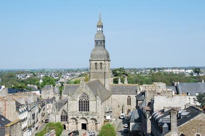 La Basilique Saint-sauveur à Dinan