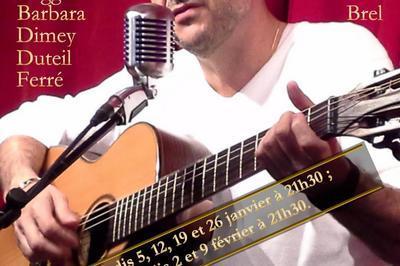 La chanson française en toute intimité... au Théâtre Pandora ! à Paris 11ème