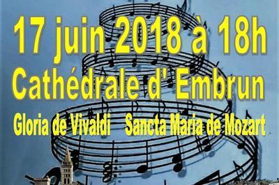 La Chorale de Sisteron  à Embrun