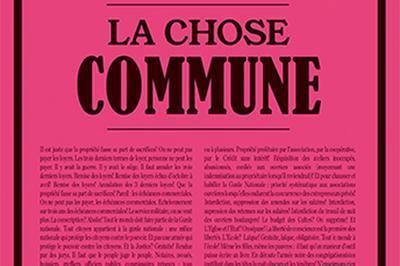 La Chose Commune à Les Lilas