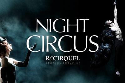 La compagnie Recirquel présente Night Circus à Paris 13ème