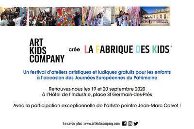 La Fabrique Des Kids :  Un Festival D'ateliers Artistiques Et Ludiques Organisé Par Art Kids Company à Paris 6ème
